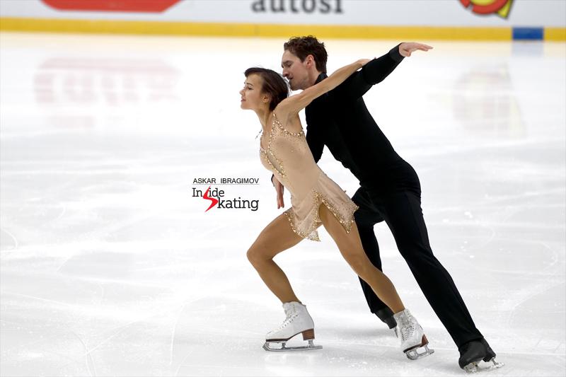 Challenger (6) - Finlandia Trophy. Oct 11 - 13, 2019. Espoo /FIN      - Страница 15 Liubov-Ilyushechkina-and-Charlie-Bilodeau-SP-2019-Finlandia-Trophy-1
