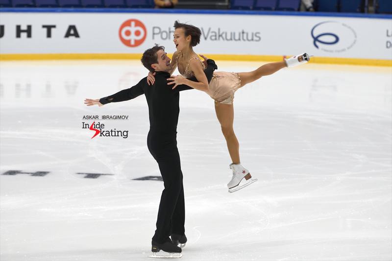 Challenger (6) - Finlandia Trophy. Oct 11 - 13, 2019. Espoo /FIN      - Страница 15 Liubov-Ilyushechkina-and-Charlie-Bilodeau-SP-2019-Finlandia-Trophy-4