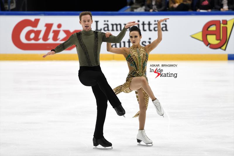Challenger (6) - Finlandia Trophy. Oct 11 - 13, 2019. Espoo /FIN      - Страница 15 Madison-Chock-and-Evan-Bates-FD-2019-Finlandia-Trophy-3