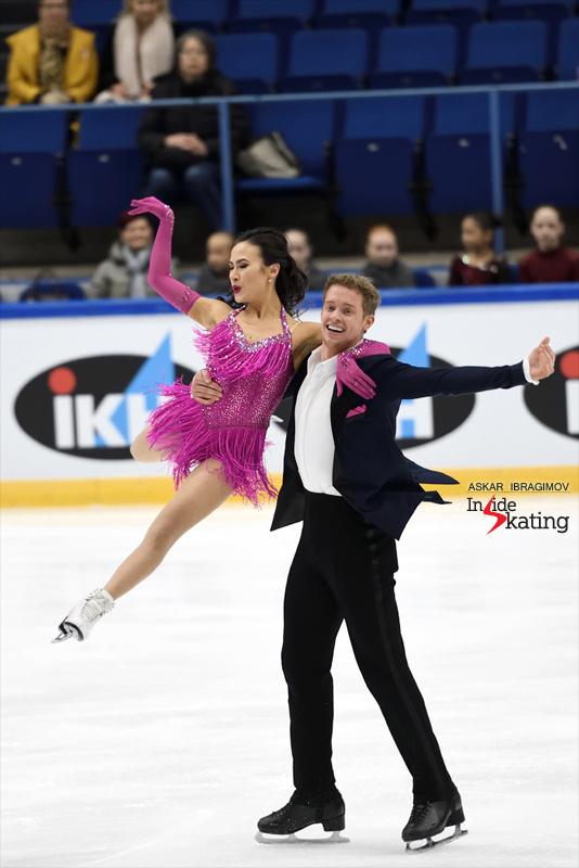 Challenger (6) - Finlandia Trophy. Oct 11 - 13, 2019. Espoo /FIN      - Страница 15 Madison-Chock-and-Evan-Bates-RD-2019-Finlandia-Trophy-7
