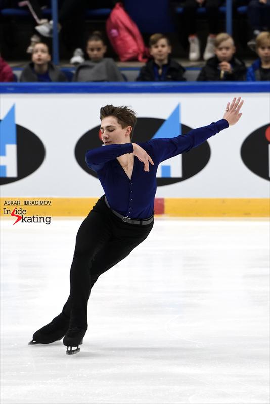 Challenger (6) - Finlandia Trophy. Oct 11 - 13, 2019. Espoo /FIN      - Страница 15 Roman-Sadovsky-SP-2019-Finlandia-Trophy-1
