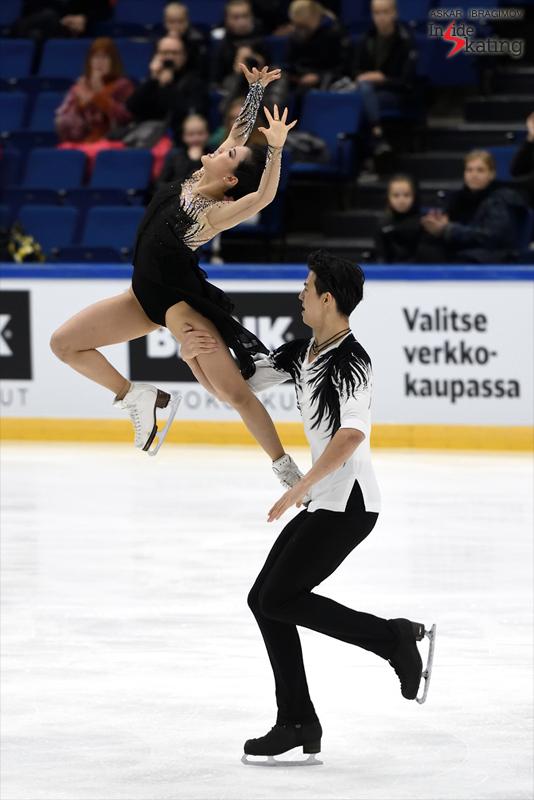 Challenger (6) - Finlandia Trophy. Oct 11 - 13, 2019. Espoo /FIN      - Страница 15 Shiyue-Wang-and-Xinyu-Liu-FD-2019-Finlandia-Trophy-2