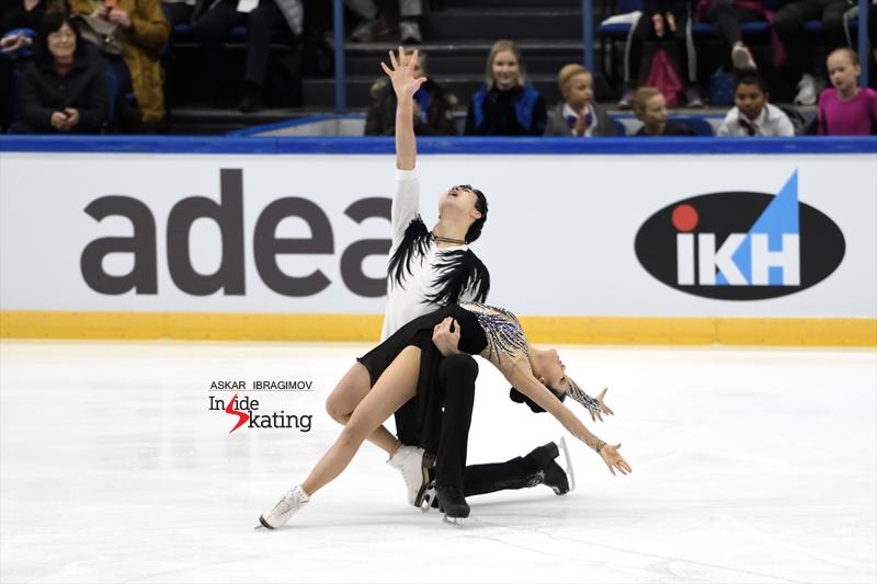 Challenger (6) - Finlandia Trophy. Oct 11 - 13, 2019. Espoo /FIN      - Страница 15 Shiyue-Wang-and-Xinyu-Liu-FD-2019-Finlandia-Trophy-4