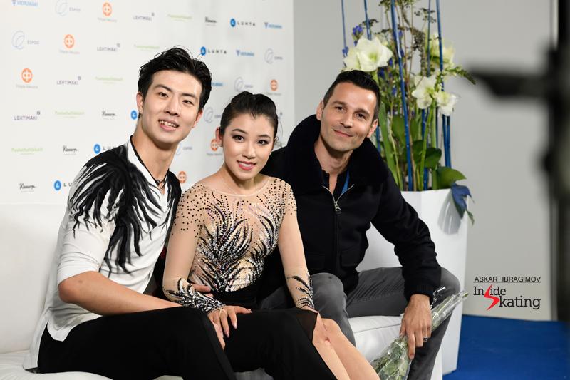 Challenger (6) - Finlandia Trophy. Oct 11 - 13, 2019. Espoo /FIN      - Страница 15 Shiyue-Wang-and-Xinyu-Liu-FD-2019-Finlandia-Trophy-5