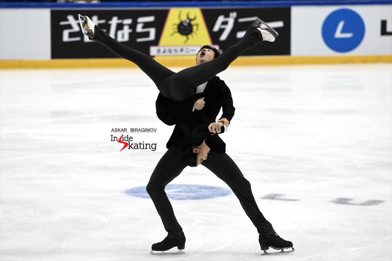 Challenger (6) - Finlandia Trophy. Oct 11 - 13, 2019. Espoo /FIN      - Страница 15 Shiyue-Wang-and-Xinyu-Liu-RD-2019-Finlandia-Trophy-3
