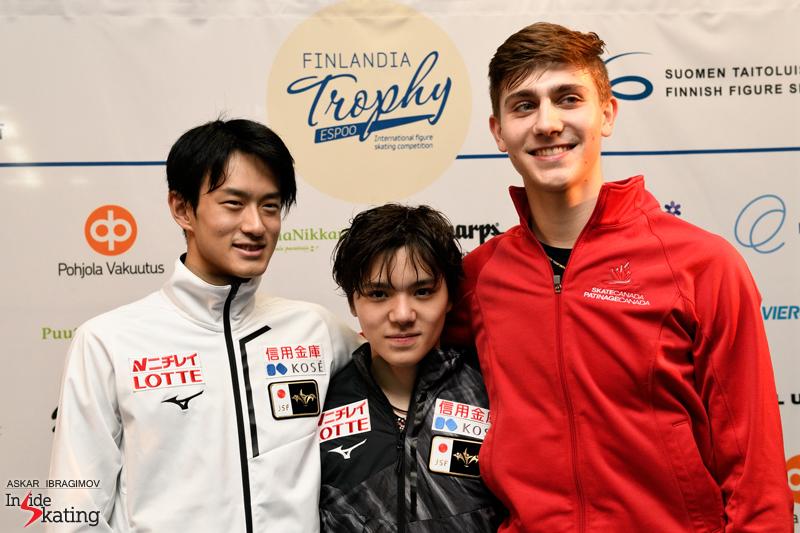 Challenger (6) - Finlandia Trophy. Oct 11 - 13, 2019. Espoo /FIN      - Страница 15 Trio-of-medalists-2019-Finlandia-Trophy-1