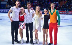 A golden (s)quad at 2019 Rostelecom Cup. The photo-story of the 5th GP event