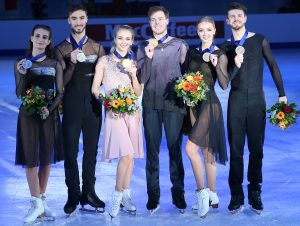 Photo-stories from Graz (Part Three): the ice dancing event