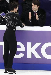 "Stéphane Lambiel: ""Do it. Show us your colours!"""